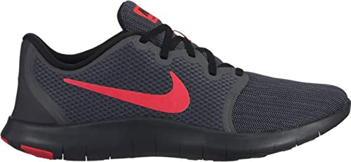ca8cbab5cc97 Nike Men s Flex Contact 2 Dark Grey Red Training Shoes (AA7398-016 ...