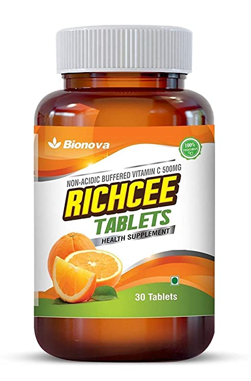 45b42f641021 Buy Bionova Vitamin C 500Mg - 30 Tablets (Non-Acidic) - Gentle On Stomach  Online at Low Prices in India - Amazon.in