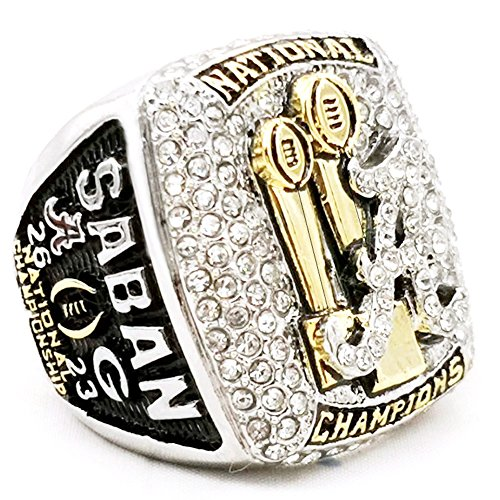 2017-2018 Alabama Crimson Tide MVP Saban - National ChamPionship Ring Size 11