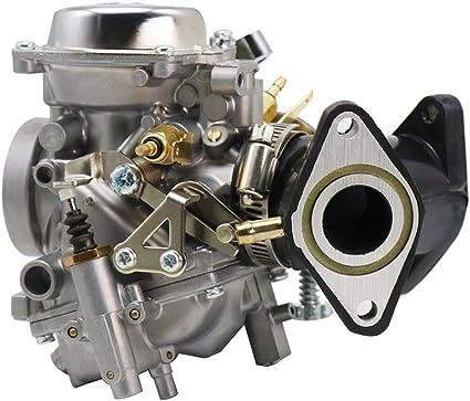 Amazon.com: BingWS Fuel Filter XV250 26mm Carb Carburetor Aluminum  Carburador Assy for Yamaha VX 250 Virago 250 V-Star 250 Route 66 1988-2014  Clean Engine (Color : C 01): Home & KitchenAmazon.com