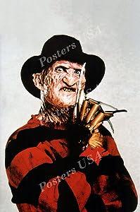 "PremiumPrints - Freddy Krueger A Nightmare On Elm Street Movie Poster - XFIL812 Premium Canvas 11"" x 17"" (28 cm x 43 cm)"