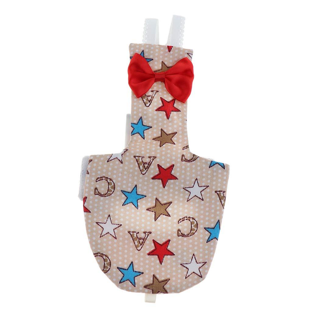 Estrella S Sharplace Pa/ñal Laro Pa/ñuelo Traje Vuelo P/ájaros Reutilizable Lavable Peque/ños Grandes