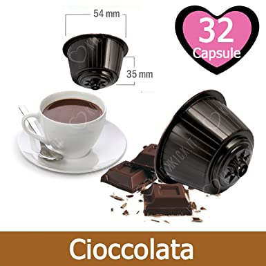 32 Capsulas Chocolate Compatibles Nescafè Dolce Gusto - Café ...