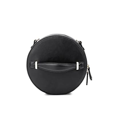 Melie Bianco Stylish Crossbody Strap Shoulder Bags For Women - Round Design  - Luxury Vegan Leather 9747fd0a4e00b
