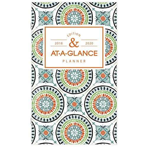 Planner Brands Acco (at-A-Glance Academic Monthly Pocket Planner, 2 Year, July 2018 - June 2020, 3-5/8
