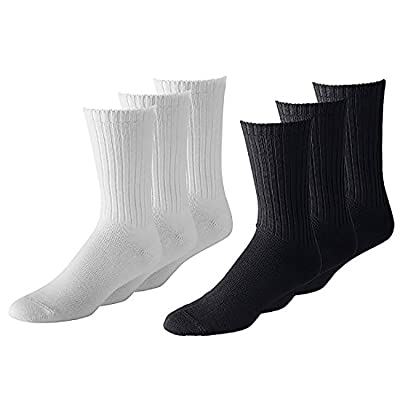 50 Pairs Men or Women Classic and Athletic Crew Socks - Bulk Wholesale Packs - Any Shoe Size
