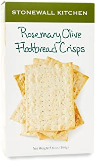 product image for Stonewall Kitchen Rosemary Olive Flatbread Crisp, 5.8 ounce
