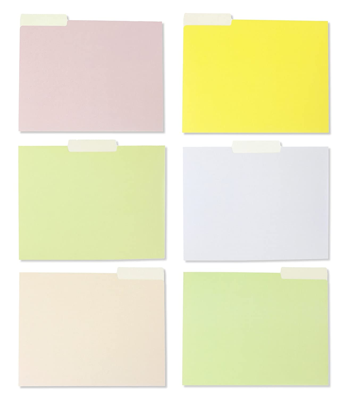 Amazon.com : 12 Pack Decorative Assorted Designer File Folder Set ...