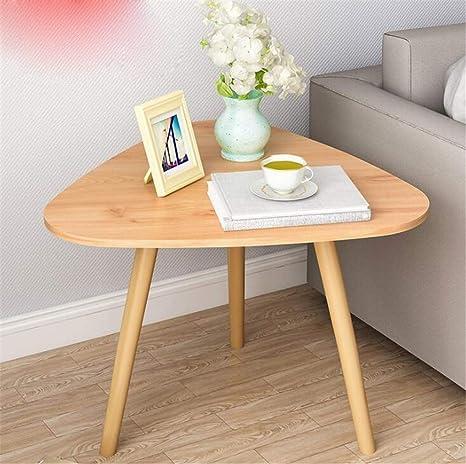 Amazon.com: Mesas de café para salón para salón pequeño 23.6 ...
