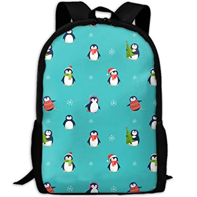 SZYYMM Custom Made Little Penguin Oxford Cloth Fashion Backpack,Travel/Outdoor Sports/Camping/School, Adjustable Shoulder Strap Storage Backpack For Women And Men free shipping