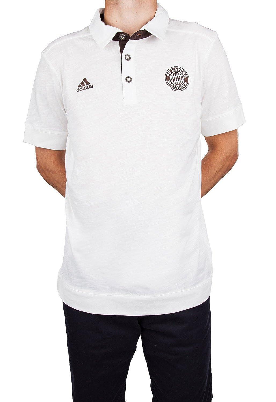 adidas - Polo del FC Bayern Munich para Adulto Blanco Blanco Talla ...