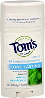 product image for Tom's of Maine Natural Deodorant Stick Woodspice 2.25 oz (Pack of 11)