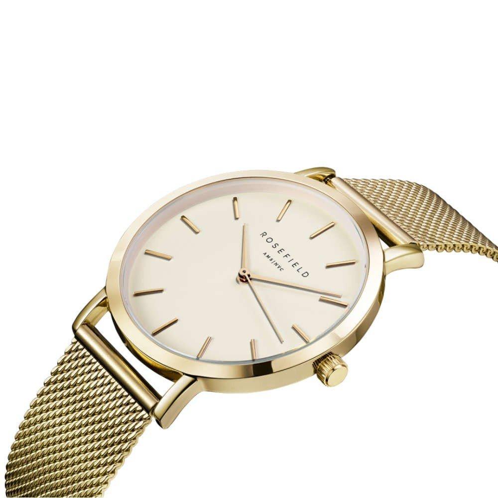Rosefield Reloj Analógico para Mujer de Cuarzo con Correa en Acero Inoxidable MWGM41: Amazon.es: Relojes