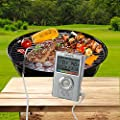 Food Cooking Thermometer- Lumsing Digital BBQ Meat Thermometer for Outdoor Grill Smoker Kitchen Barbecue Thermometer from Lumsing