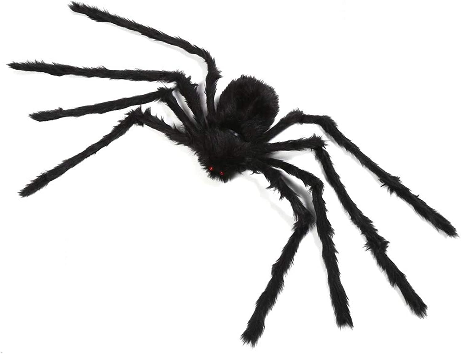 yosager Outdoor Halloween Decorations, Big Scary Spider House Party Yard Decoration, 5ft