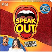 FunBlast Speak Out Challenge Game for Kids with 5 Mouth Pieces