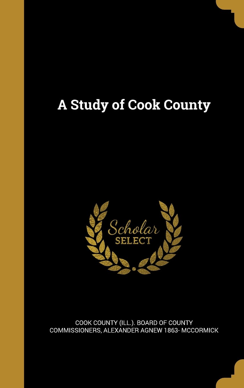 Read Online A Study of Cook County PDF