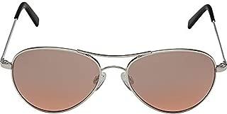 product image for Randolph Amelia Infinity Sunglasses Bright Chrome/Skull/Sahara Metallic 57mm
