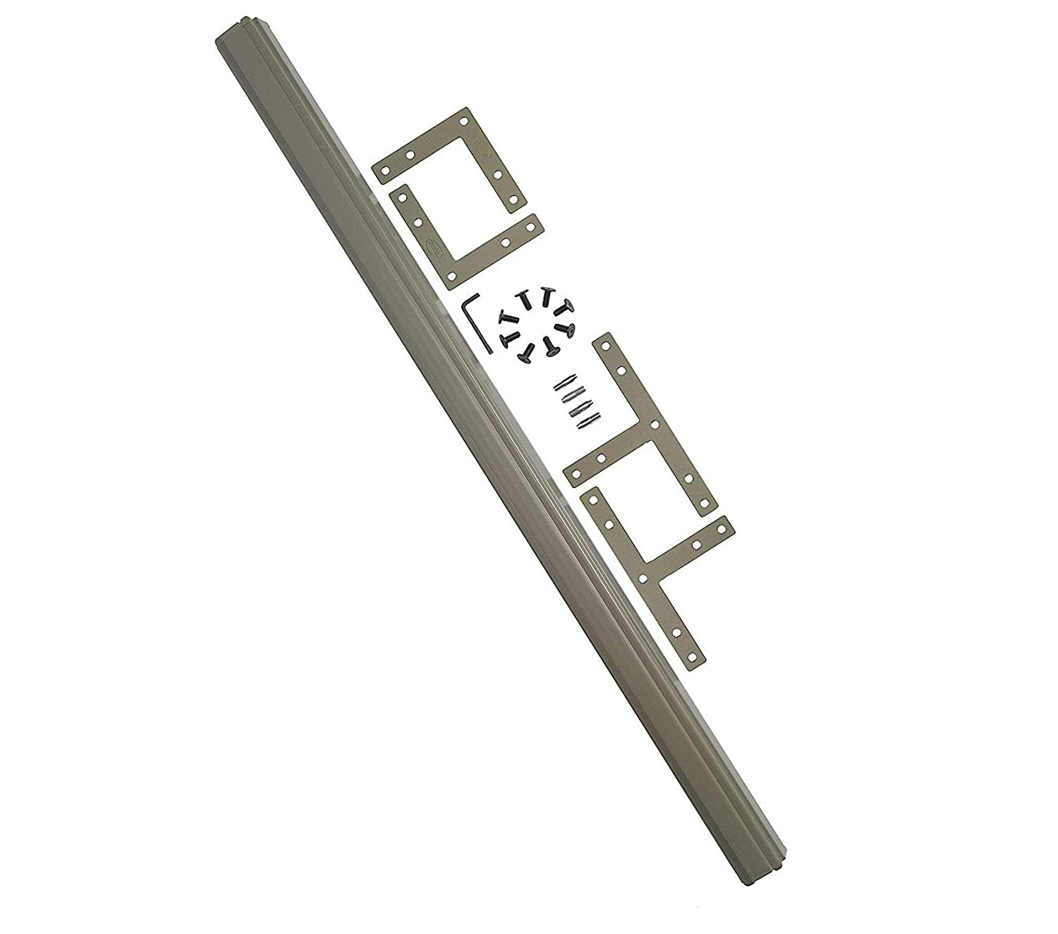 Bush Businеss Furniturе Office Home Furniture Premium ProPanels - 2 Way or 3 Way Connector (for 42H Panels) in Taupe