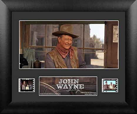 John Wayne Single Framed Art