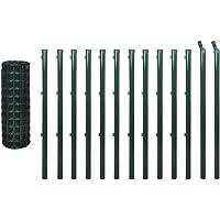 fzyhfa juego valla Euro 25x 1,5m Acero Verde