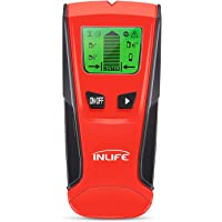 INLIFE Stud Finder Electric Wall Detector 3 in 1 Multi-Scanner with Digital LCD Display, Center Finding Stud Sensor for Wood, Metal, Stud, AC Wire