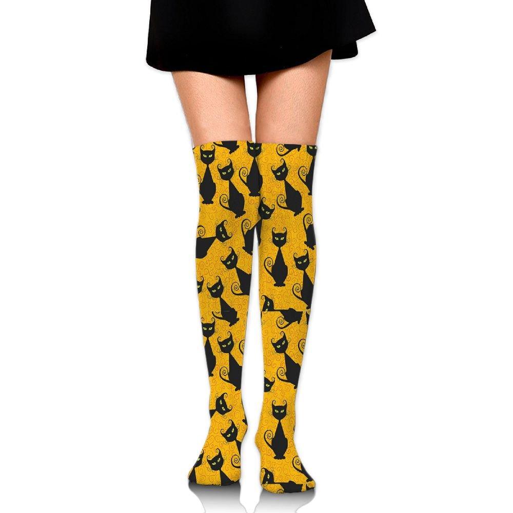 5272336825 Amazon.com: Jsojs Socks Female Black Cat For Halloween College Socks College  Wind Student Jog Sports Calf Baseball Stockings: Sports & Outdoors