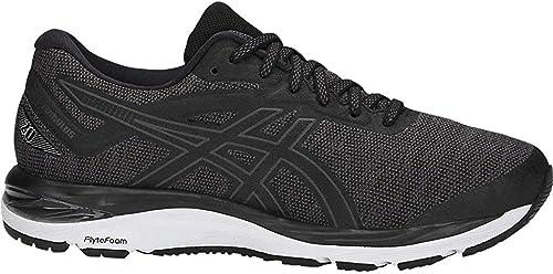 Asics - Zapatillas Gel-Cumulus 20 MX para correr para mujer, Negro  (Negro/Gris oscuro), 42.5 EU
