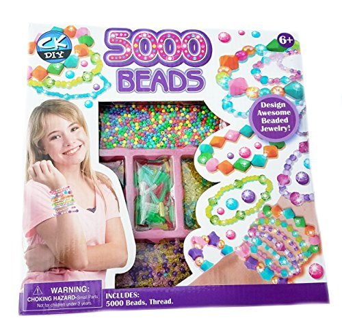 Design 6 Jewellery (5000 Beads Jewelry Making Design Kit Ages 6+)
