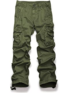 fedef1a331a Men s Cotton Military Army Cargo Camo Combat Work Pants