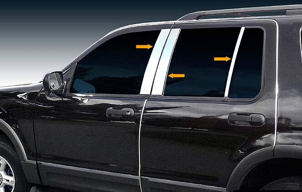 Auto Ventshade 680314 Chrome Hood Shield Fits 06-10 Explorer Explorer Sport Trac