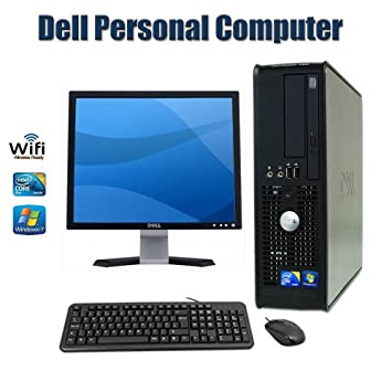 Tremendous Sale Dell Optiplex Sff Desktop Computer With Intel Core 2 Duo 2 3 Ghz 4Gb Ram 160Gb Hdd Dvd Rom Windows 7 Pro 64 Bit Keyboard Mouse 17 Inch Dell Interior Design Ideas Tzicisoteloinfo