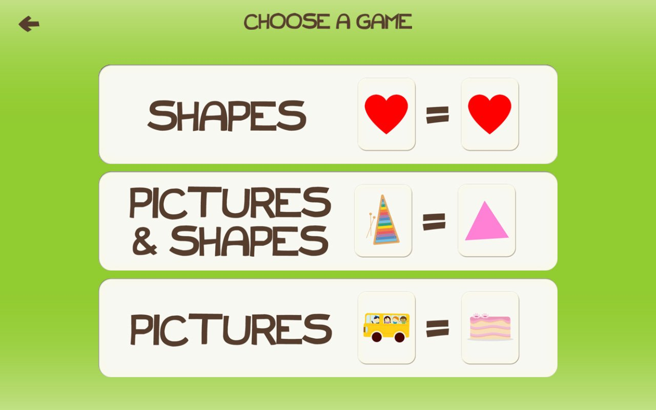 Amazon.com: Shapes Match! Shape Learning Games for Kids with Skills ...
