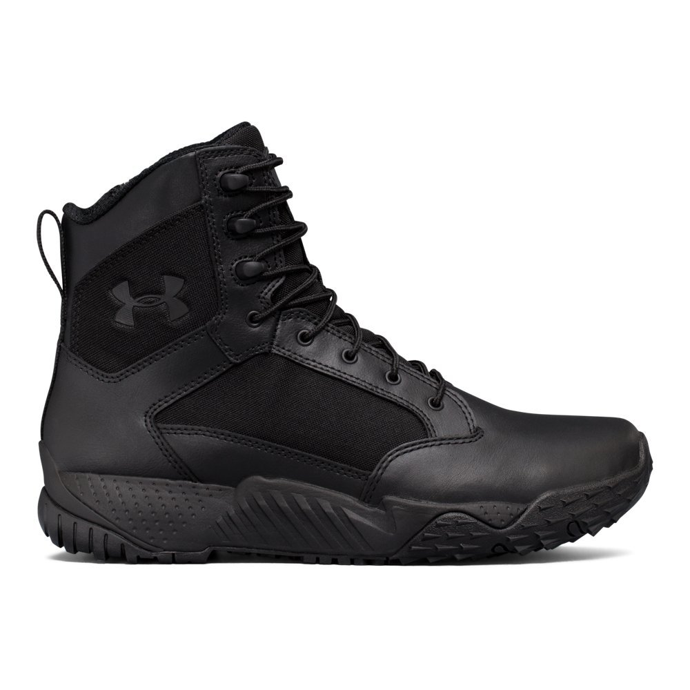 Under Armour Men's Stellar Tac Side Zip Military and Tactical Boot (001)/Black, 10.5 by Under Armour