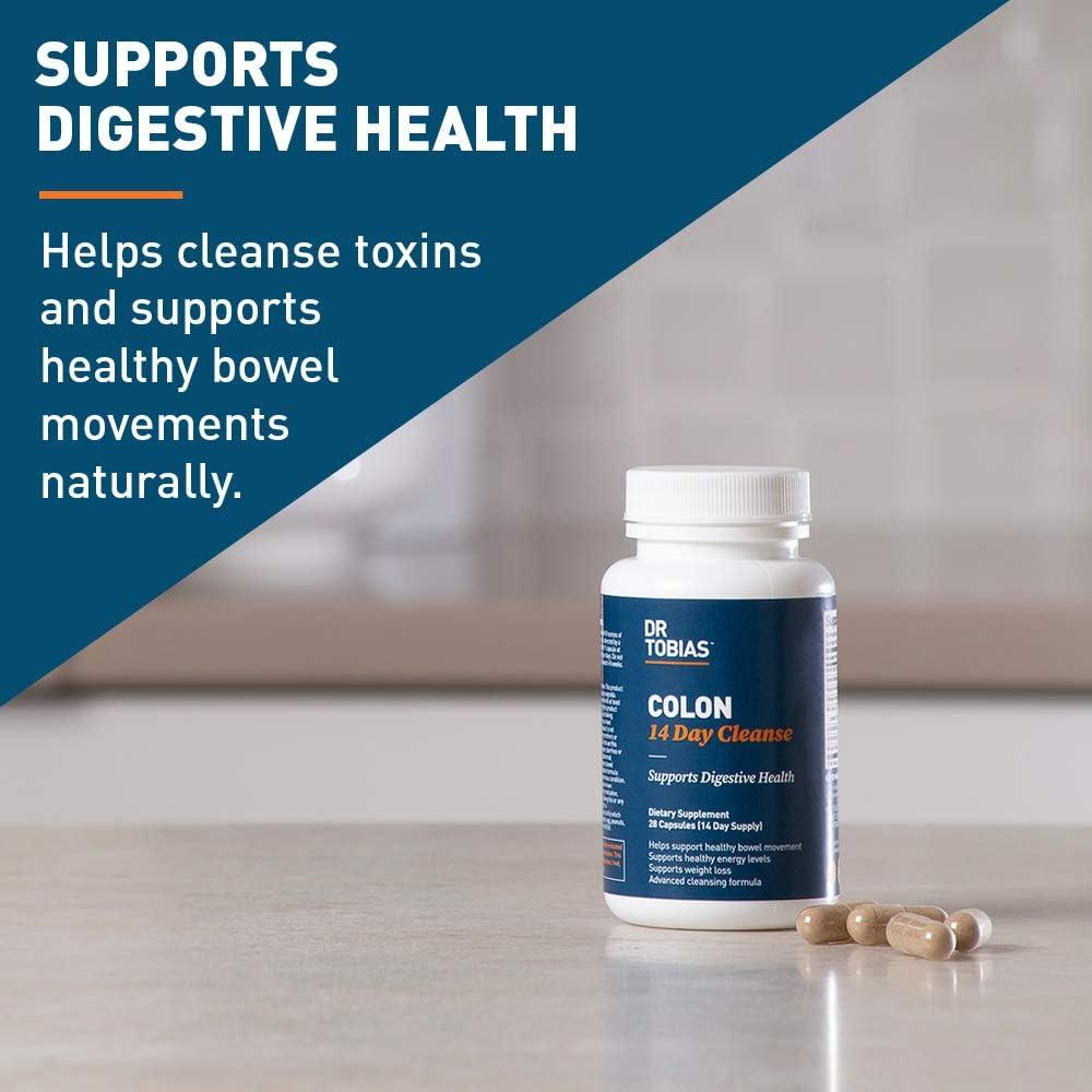 Dr. Tobias Colon 14 Day Cleanse Supplement, 28 Capsules
