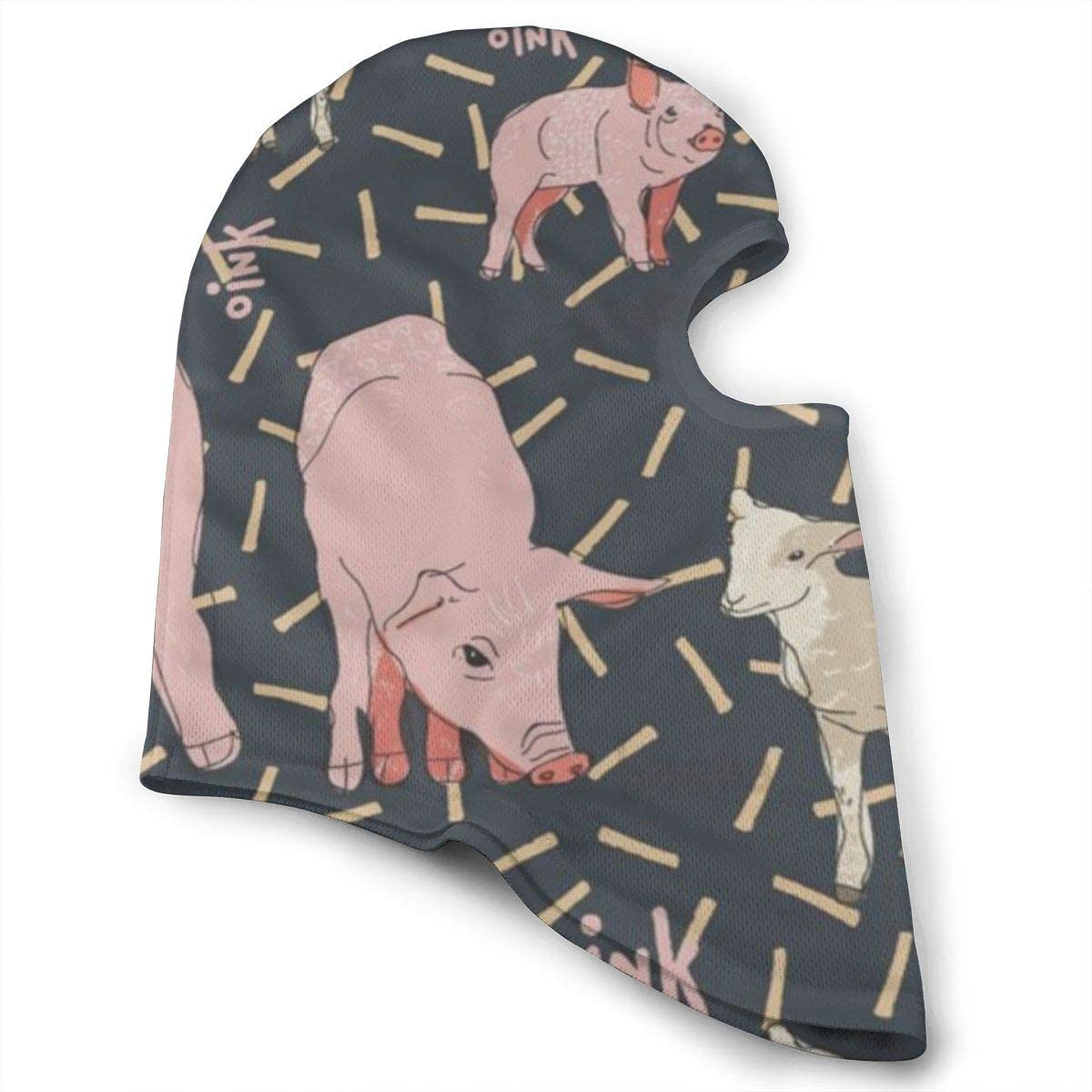 CAClifestyle Sheep and Pig Unisex Windproof Balaclavas Full Face Mask Hood