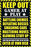 GB eye 61 x 91.5 cm Gaming Keep Out Maxi Poster, Assorted by GB eye Ltd