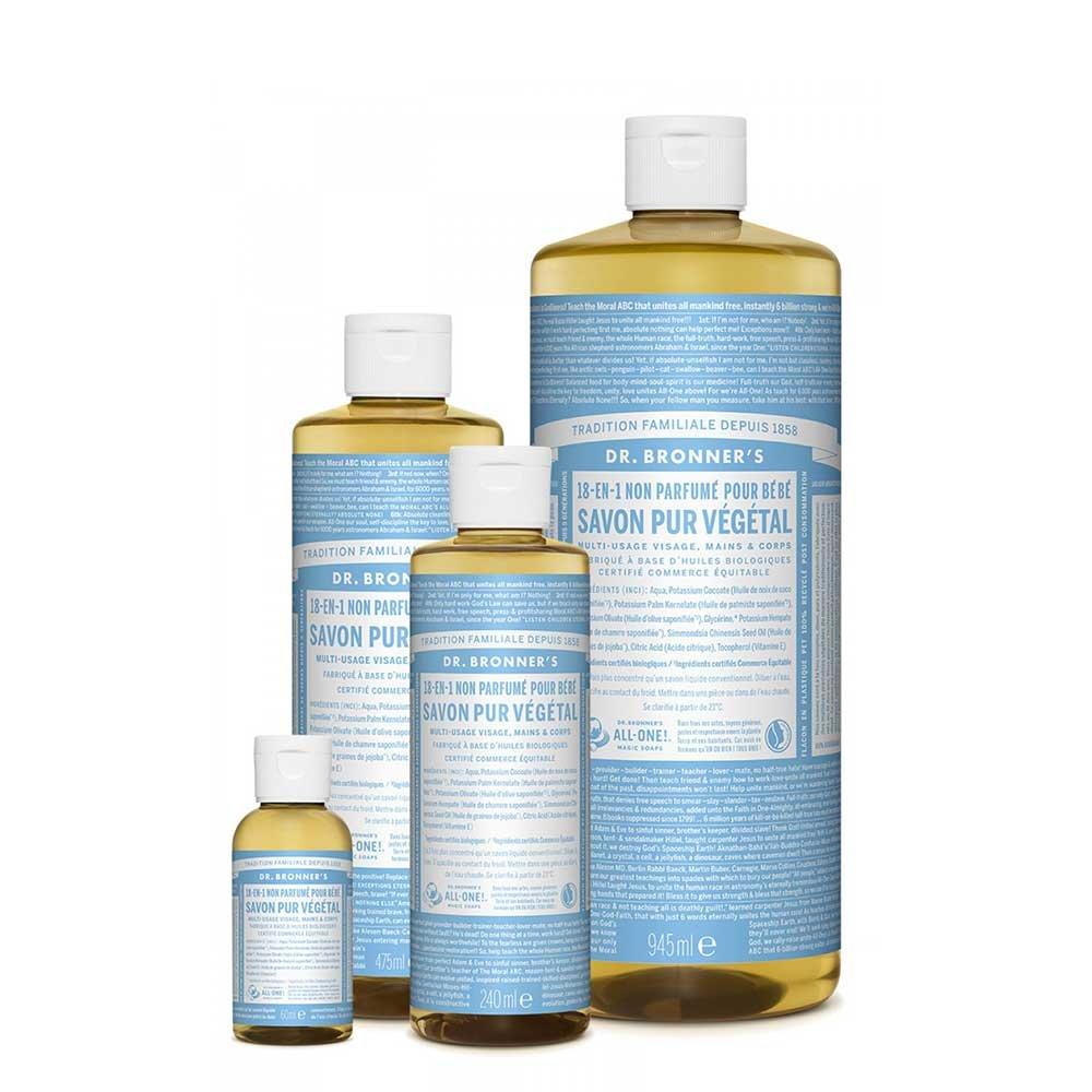 DR BRONNER LIQUID SOAP NEUTRAL MILD 473