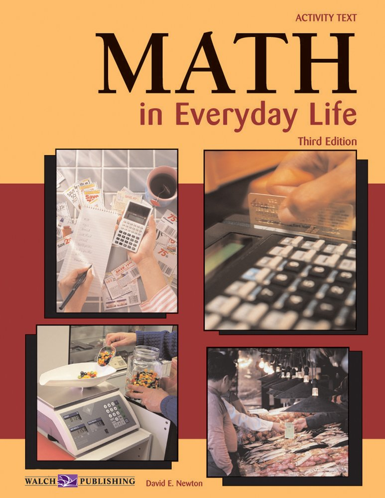 application of maths in daily life