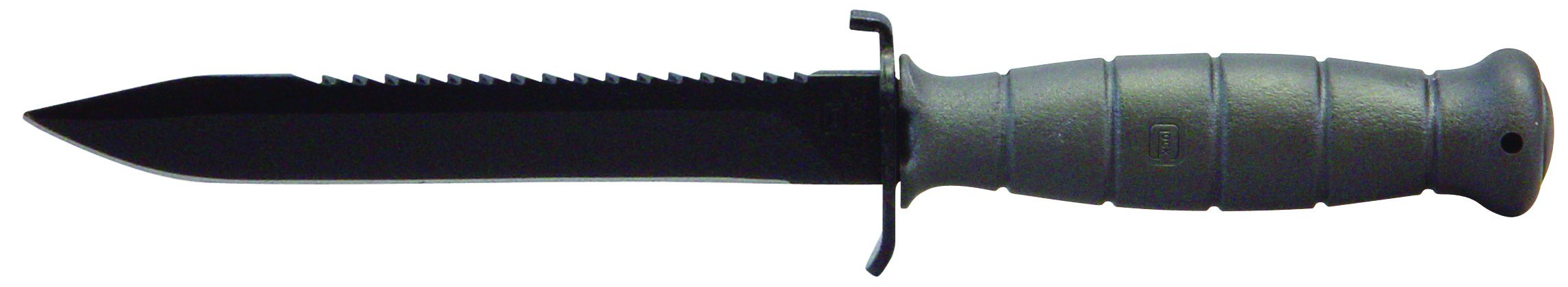 Glock OEM Field Knife 6.5'' Fixed Blade with Root Saw, Grey