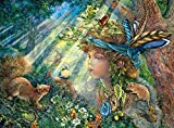Buffalo Games Nature Boy (Glitter Edition) by Josephine Wall Jigsaw Puzzle (1000 Piece) by Buffalo Games