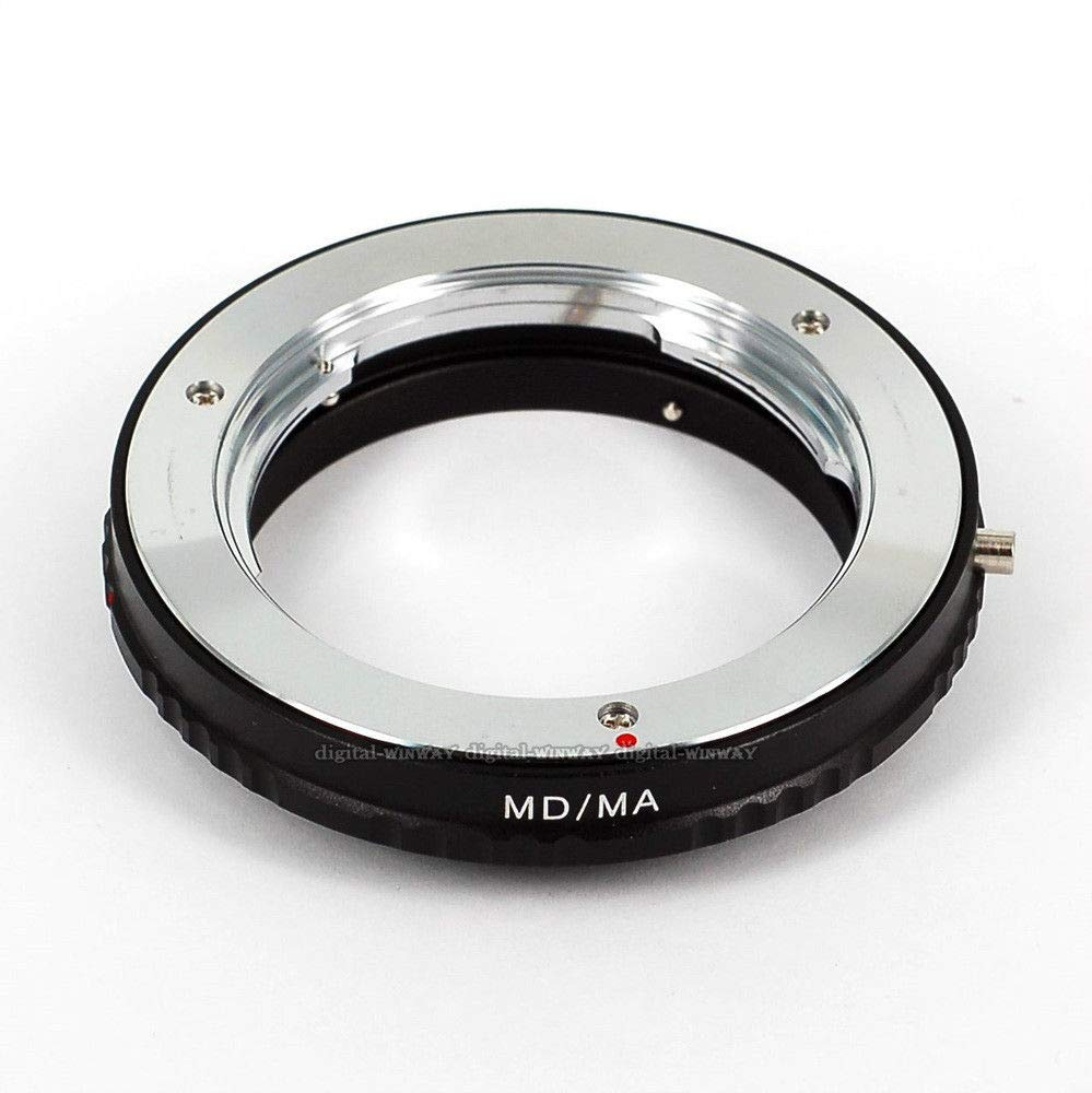 FidgetFidget Mount Adapter No Glass Minolta MD MC Lens to Sony Alpha & Minolta