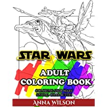 Star Wars Adult Coloring Book: Coloring Star Wars Special Characters