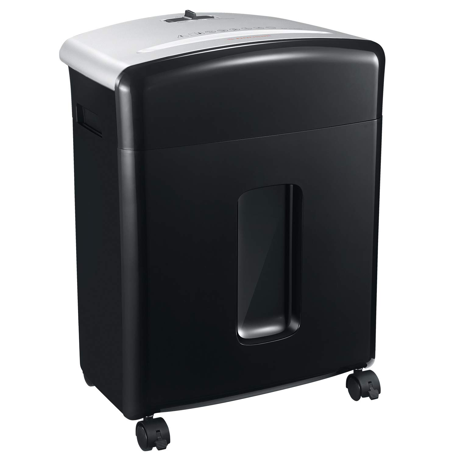 Bonsaii 10-Sheet High-Security Micro-Cut Credit Card Paper Shredder with 3.5 Gallons with Pullout Basket (C220-B)