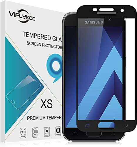 VIFLYKOO Samsung Galaxy A7 2017 Protector de Pantalla, 3D Full ...