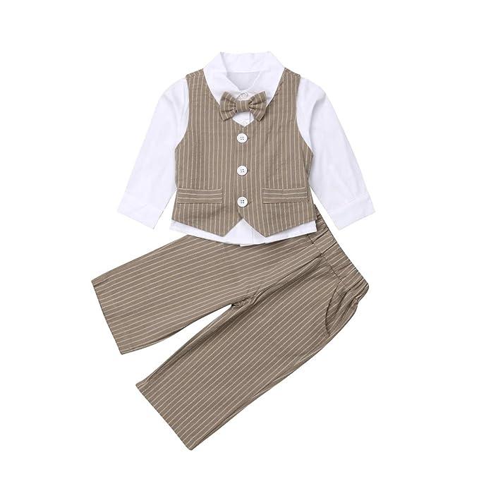 Amazon.com: Traje de manga larga para niños, camiseta de ...