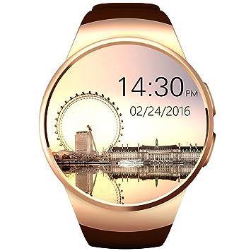 KW18 Bluetooth Smart Watch SIM y tarjeta de TF ritmo ...