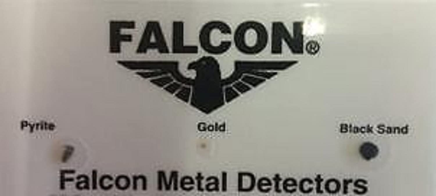 Amazon.com : Falcon MD 20 Metal Detector - Finds gold barely the eye can see : Garden & Outdoor