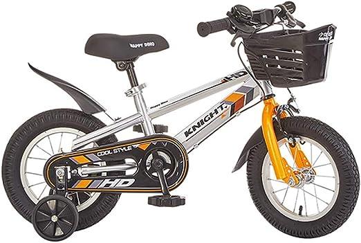 GAIQIN Durable Bicicleta Infantil Bicicleta 3-5-6-7-8 años Freno ...