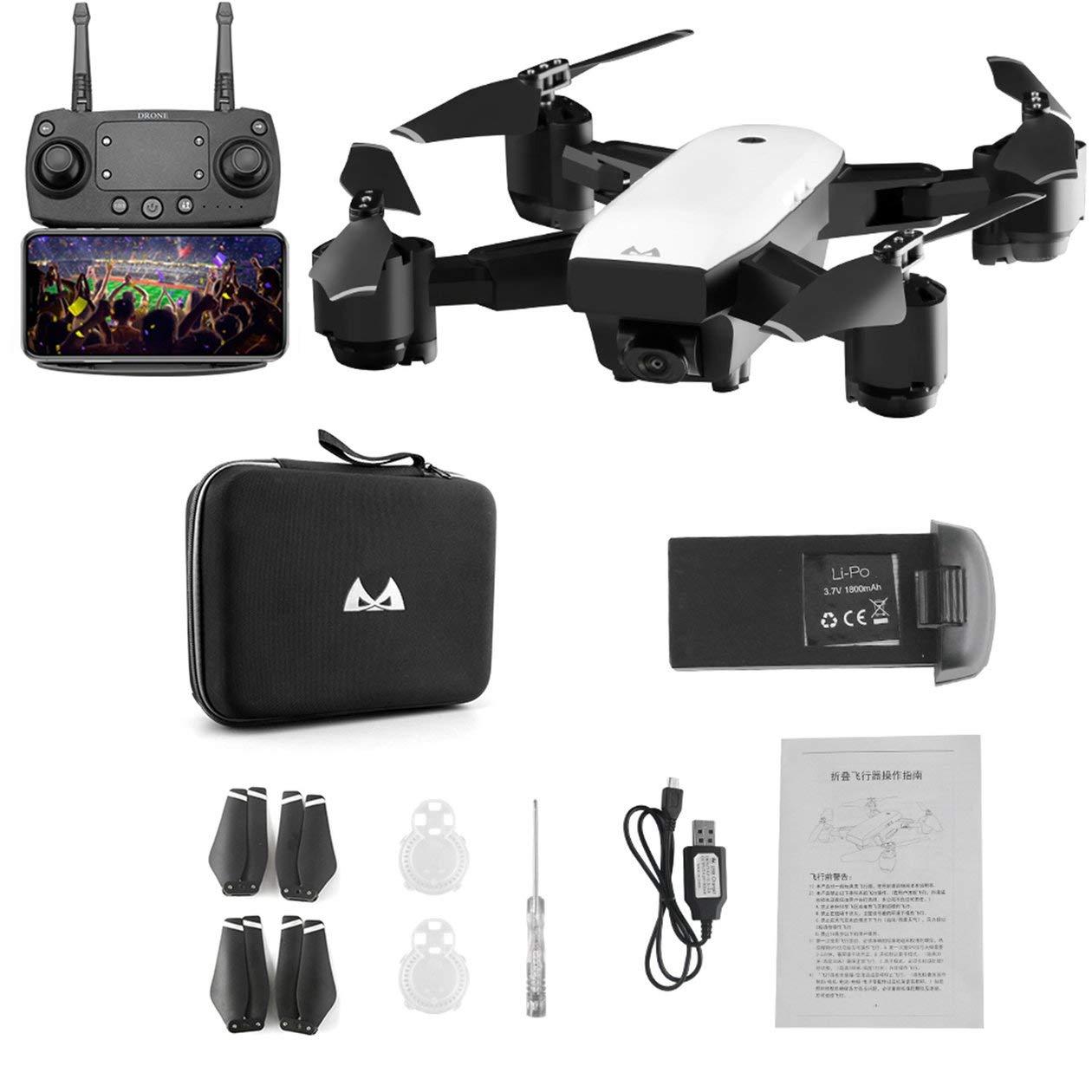 Drone SMRC S20 6 assi mini giroscopio GPS con telecamera grandangolare 1080P 2.4G Altitude Hold RC Quadcopter modello RC portatile